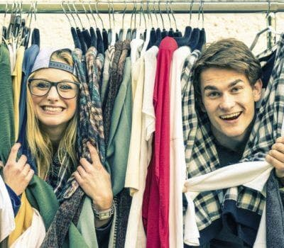 Rules For Sharing Closet Space With Your Partner