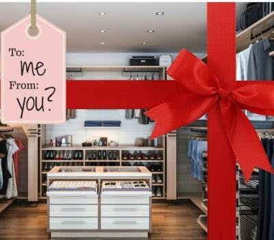 A Not-So-Subtle Hint That I Want A New Closet This Holiday!