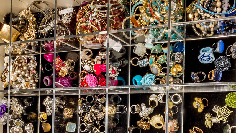 Display Trendy Accessories In Your Closet Like They're Worth Something!