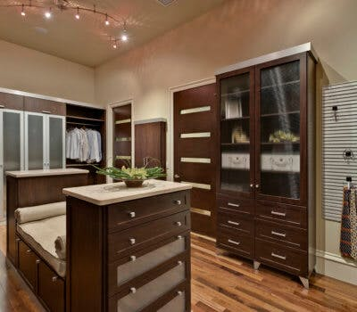 Closet Lighting: How To Transform A Dark Walk-in Into A Bright & Organized Space