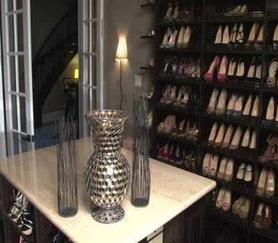 Inspiring Walk-In Closet Designs For Shoe Enthusiasts