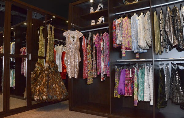 Designer Naeem Khan's Archival Closet: Commercial Design