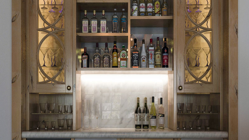 How To Stock The Perfect Home Bar For The Holidays