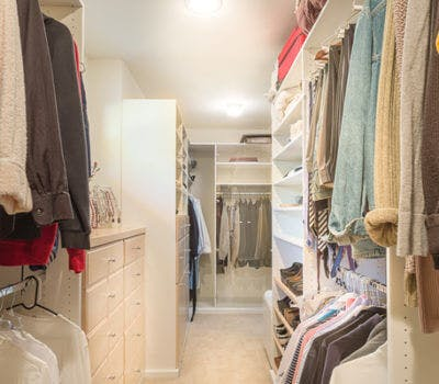 A Client's Custom Office and Closet Organizer Story
