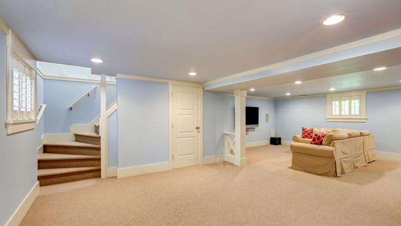 Custom Storage: Cool and Trendy Redecorated Basements