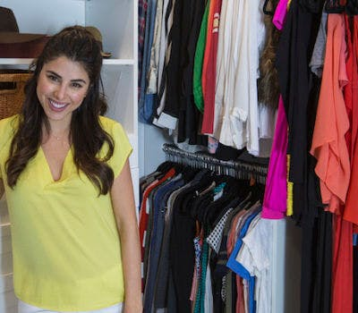Before and After: Daniella Monet's Custom Closet Makeover