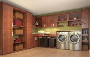 built-ins laundry room_Closet Factory