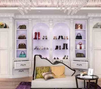 Custom Closet Design Trends: Hollywood Regency Style