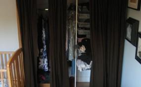 custom closet installation