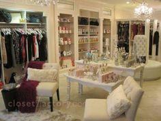closet with furniture
