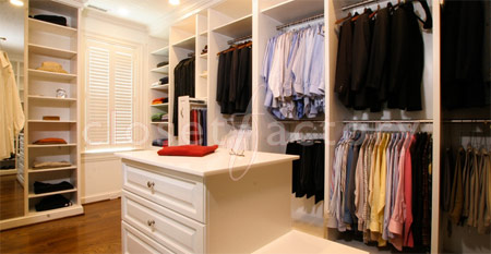 How to clean your closet without harming it.