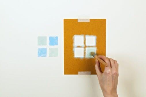 Artful Wall Stenciling