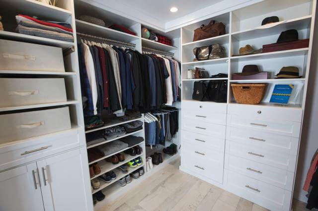Actress Daniella Monet (Nickelodeon's 'Victorious', 'Baby Daddy', 'The Fairly Odd Parents Movie') had just moved into her new Los Angeles home when she realized the current closet space wasn't going to cut it. She decided to build an add-on, and contacted Closet Factory to design a 10x10 dream closet for her and her live-in boyfriend Andrew.