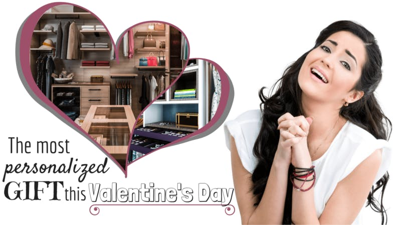 The Most Personalized Gift This Valentine's Day: A Closet Just For Me (Or Us, I Guess)