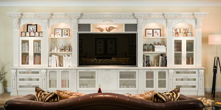 Entertainment Center Design Trends: French Style