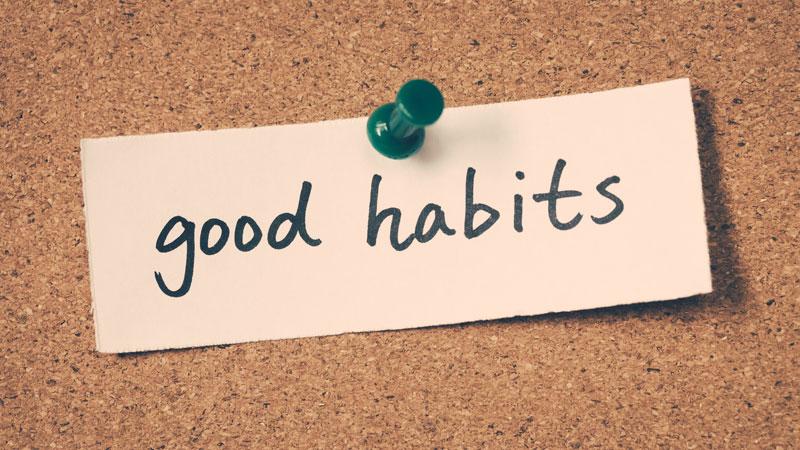 Making it a Habit to Maintain Organization