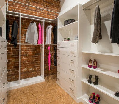 High Impact Design Tip Delivers Custom Closets On Budget!