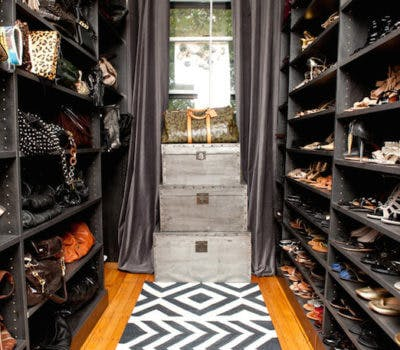 Shoeaholics: A Closet of Their Own