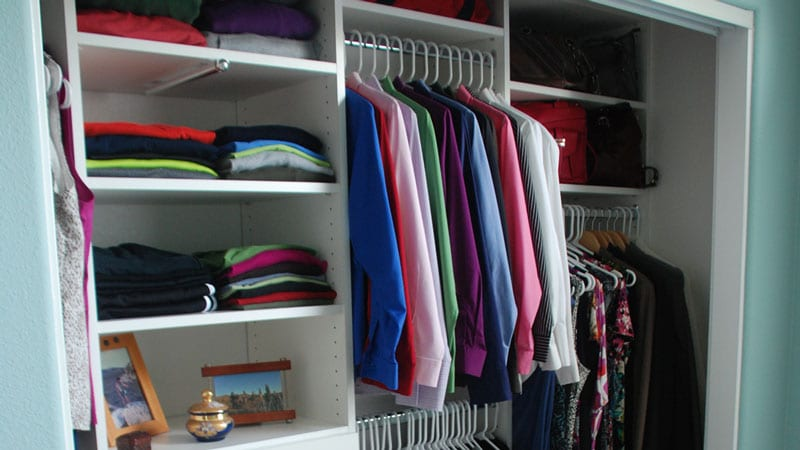 You Have Too Many Clothes: Slim Down Your Closet