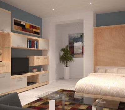 Murphy Bed Design Trends: Minimal Style
