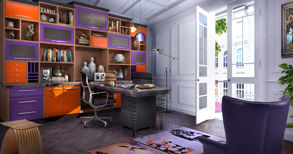 Home Office Design Trends: Post Modern Style - Closet Factory