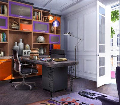 Home Office Design Trends: Post Modern Style