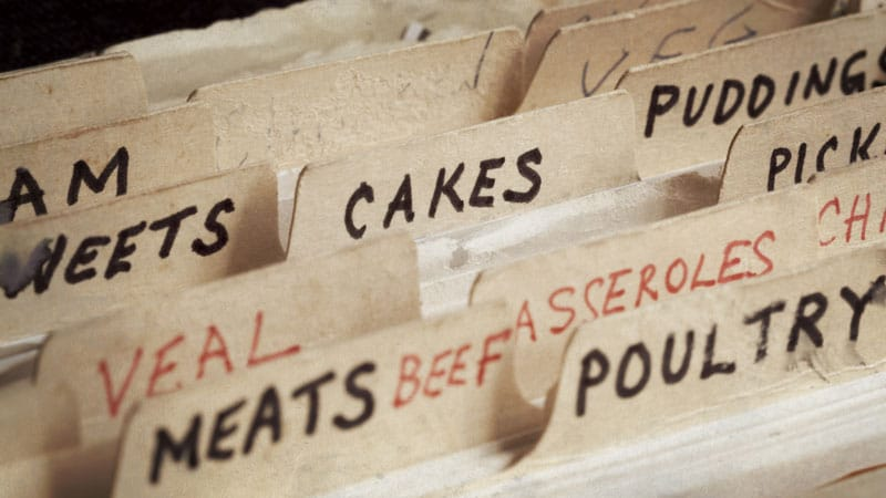 8 Ways to Organize Your Recipe Collection