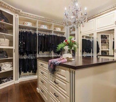 Shaker style closets exude simplicity and minimalism for California closets hawaii