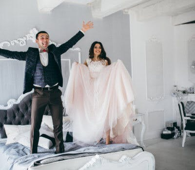"""A """"Couple's Closet"""" Is One Of 2017's Breakout Wedding Registry Ideas"""