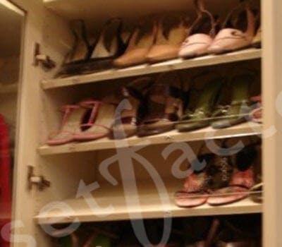 Decorative Shoe Closet Solutions