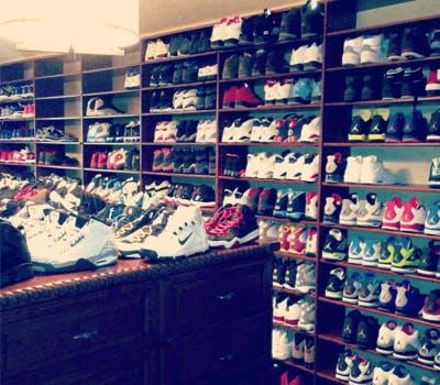 LA Clippers' Superstar Chris Paul Trusts Closet Factory to Handle His Impressive Shoe Collection