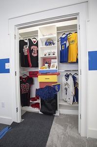 Custom Reach-In Closet