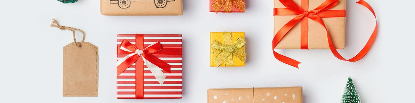 gifts and tags