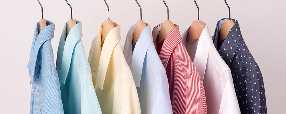shirts sorted by sleeve length