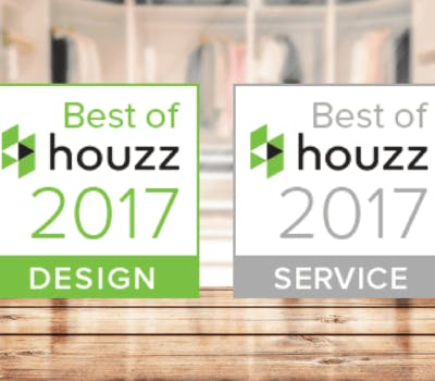 44 Closet Factory Designers & Locations Awarded 'Best of Houzz' 2017