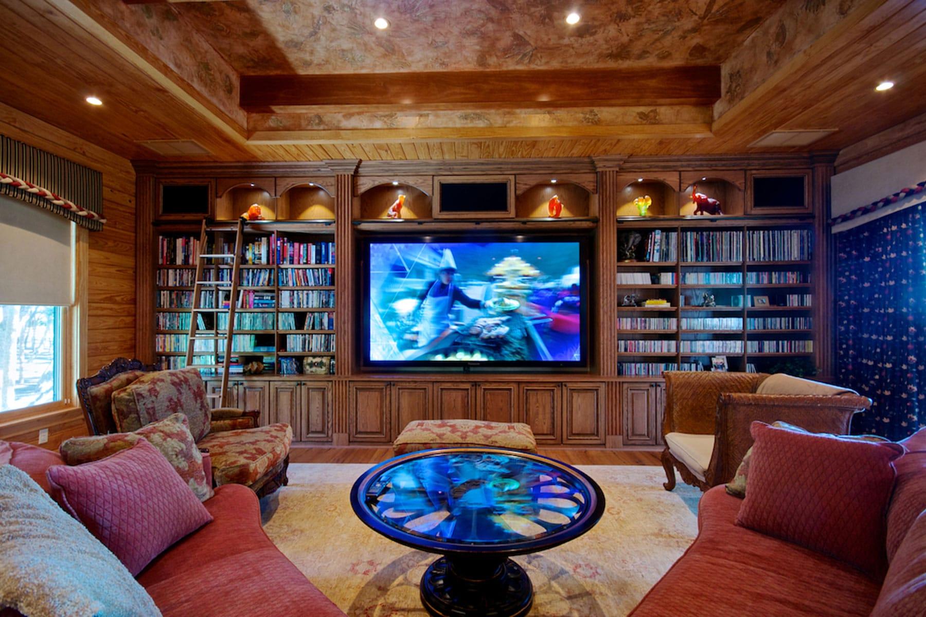 entertainment centers custom built in cabinets closet factory. Black Bedroom Furniture Sets. Home Design Ideas