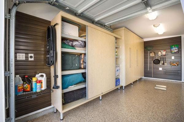 Charmant Garage With Bipass Doors Garage With Bipass Doors