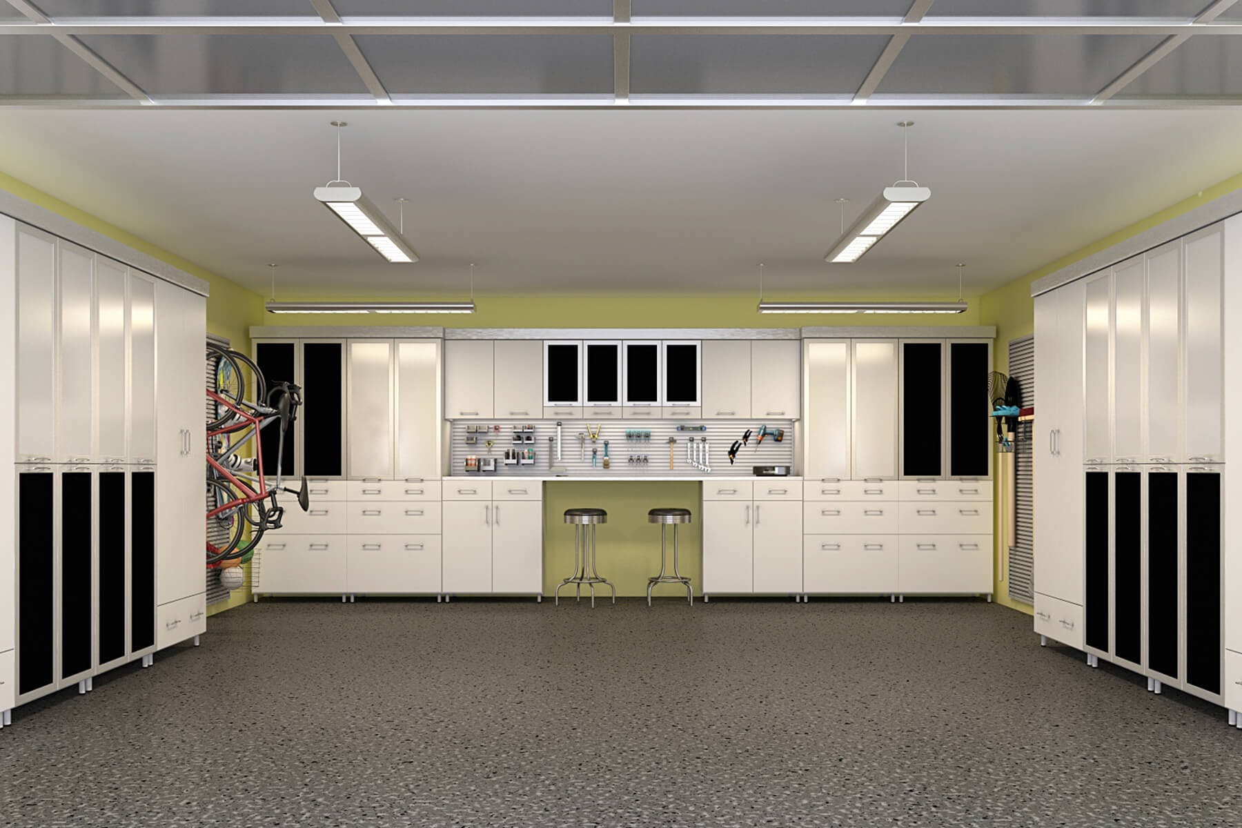 Garage Storage Cabinets Design And Install Closet Factory