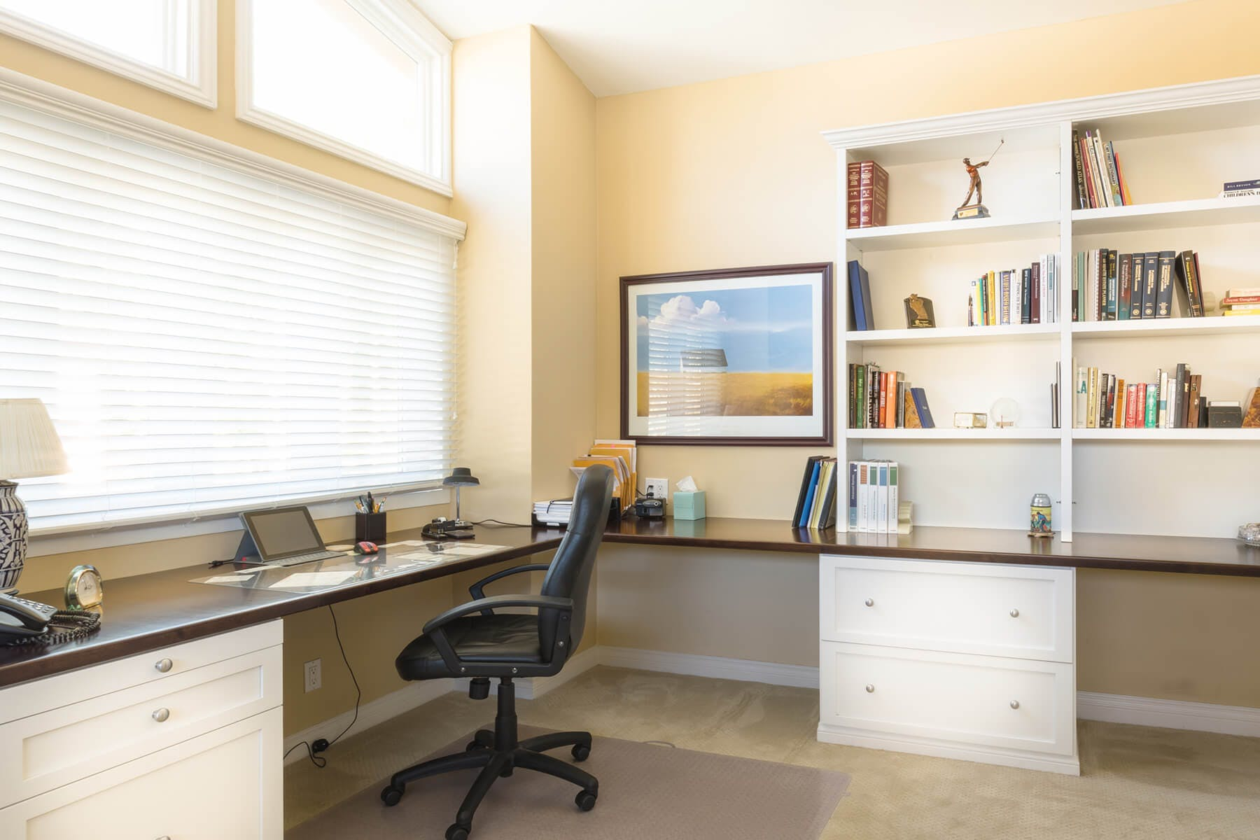 Custom Corner Office