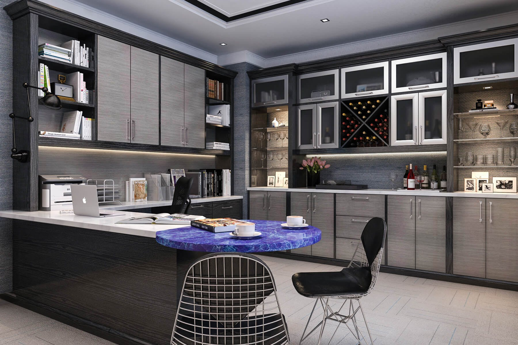 ultimate kitchen cabinets home office house. Home Office_54 · Ultimate Kitchen Cabinets Office House