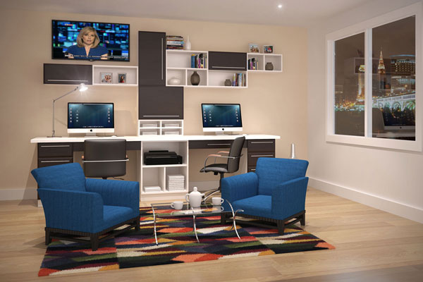 Affordable Office In Modern Style Affordable Office In Modern Style Home  Office_67