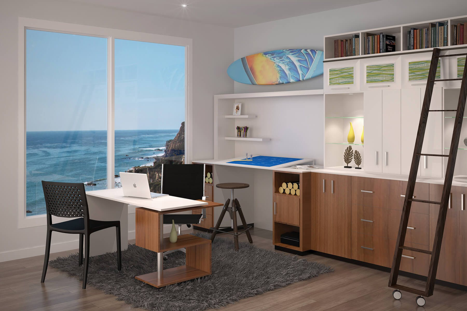 Custom office desks for home Rustic Architectual Custom Office And Wall Unit Home Office68 Closet Factory Custom Home Offices Office Builtin Design Closet Factory
