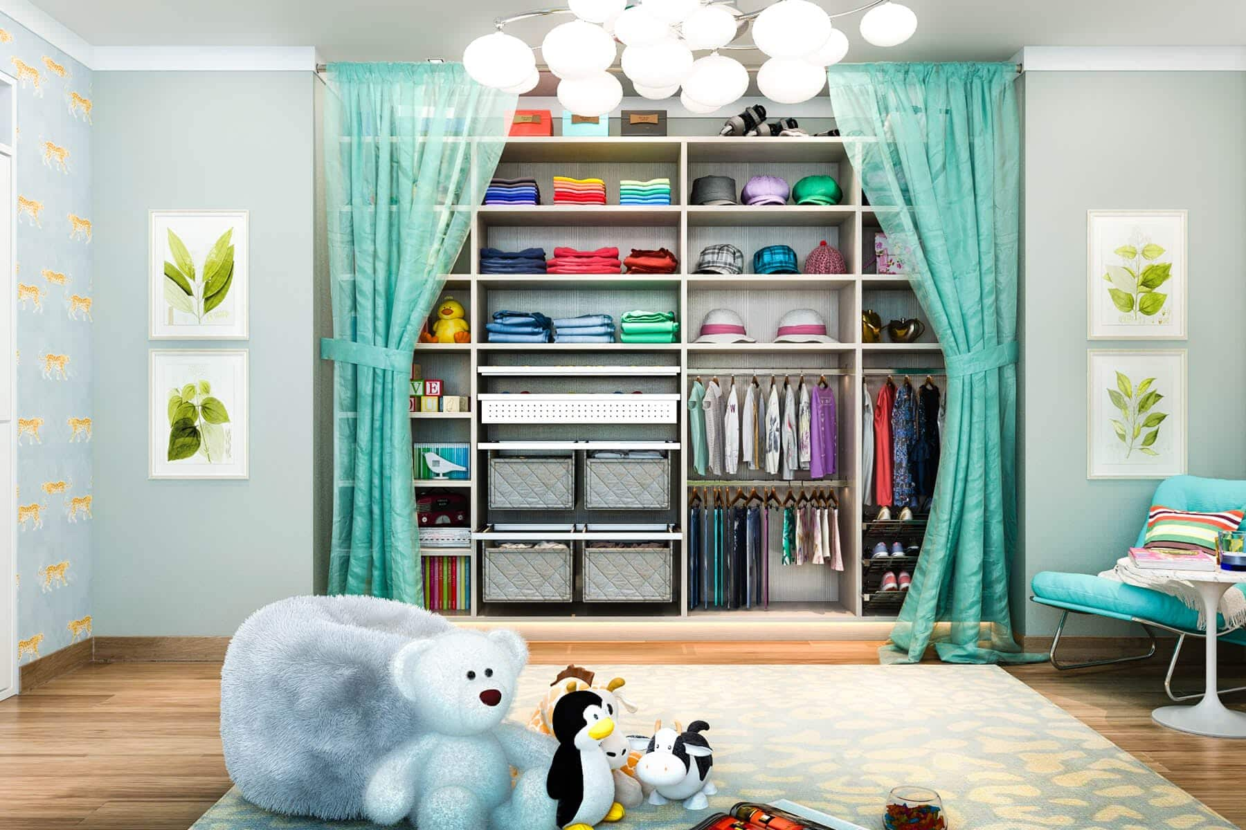 kid organization systems custom design closet factory
