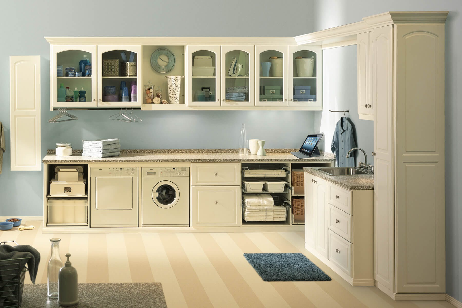 laundry org cabinet cabinets cabinetry image l storage permalink room for omega