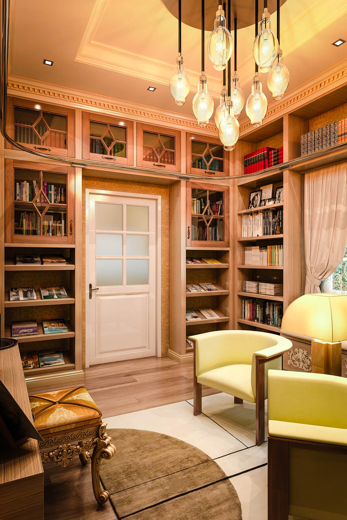Home Library Cabinets | Custom Designs | Closet Factory