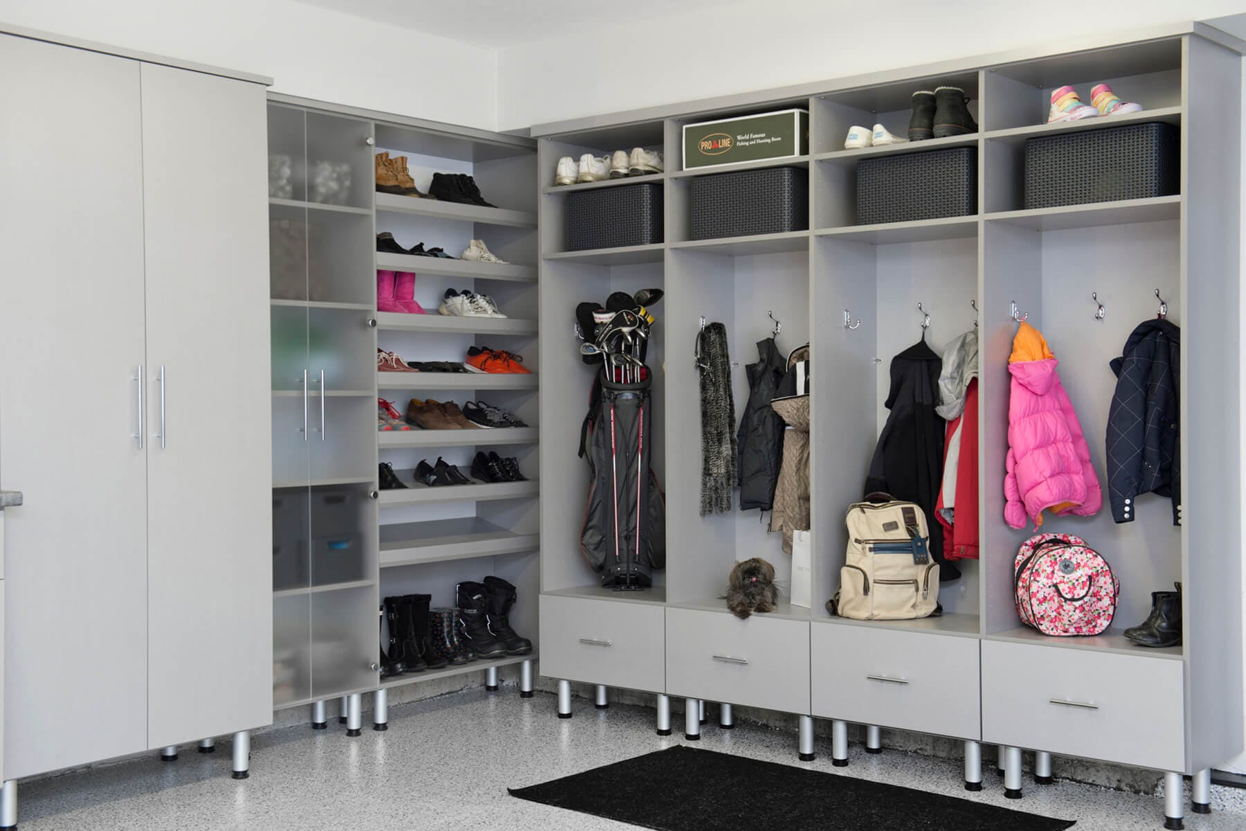 Laundry Room Organization Ideas Mudroom Cabinet Design And Installation Closet Factory