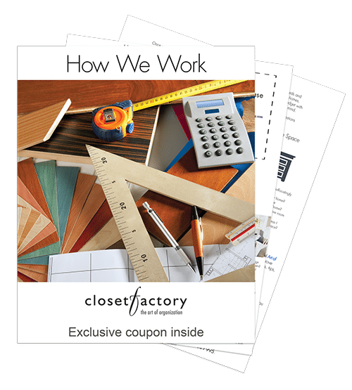cover of how we work closet design guide.