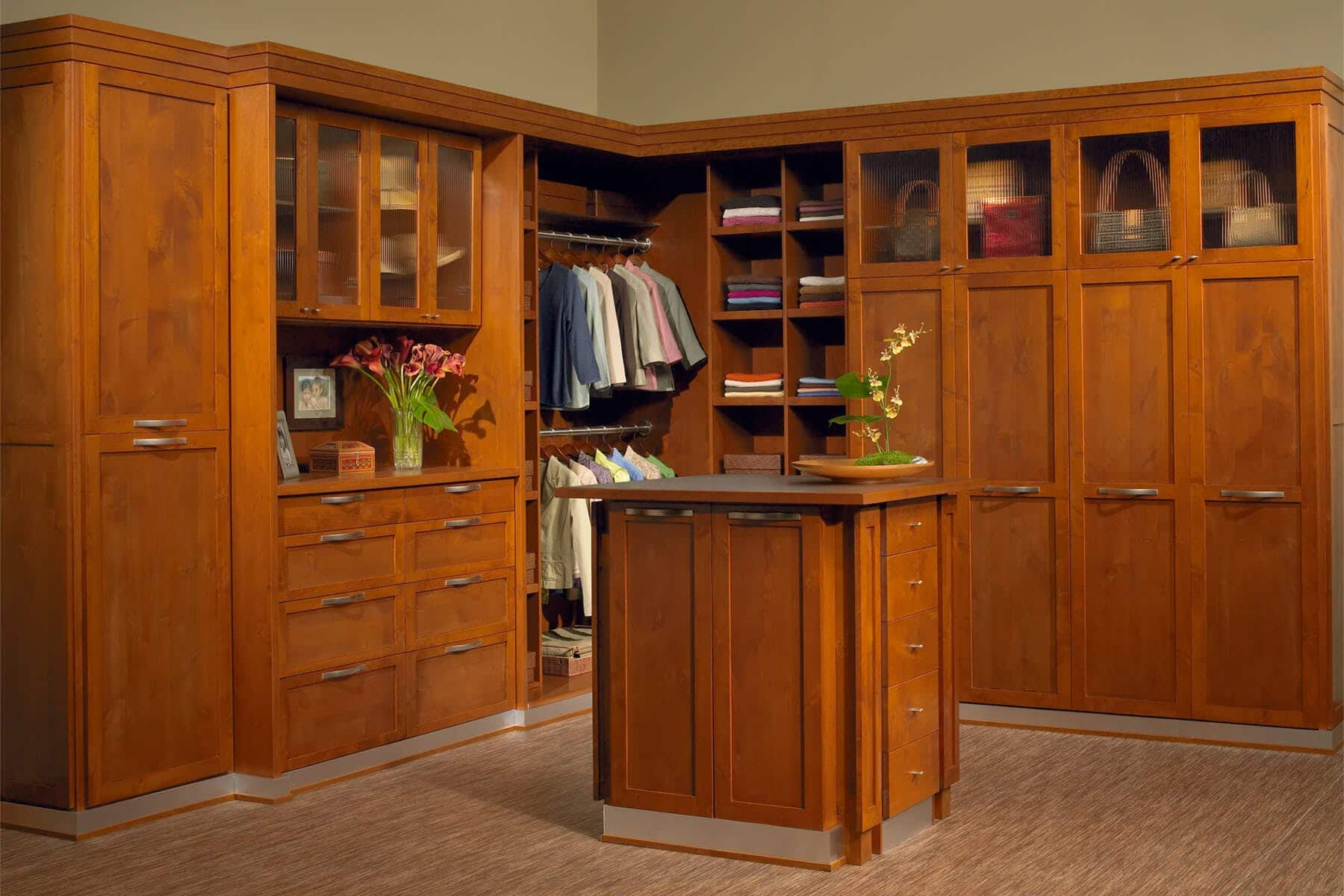 Master Bedroom Closet Ideas Walk In Built Ins
