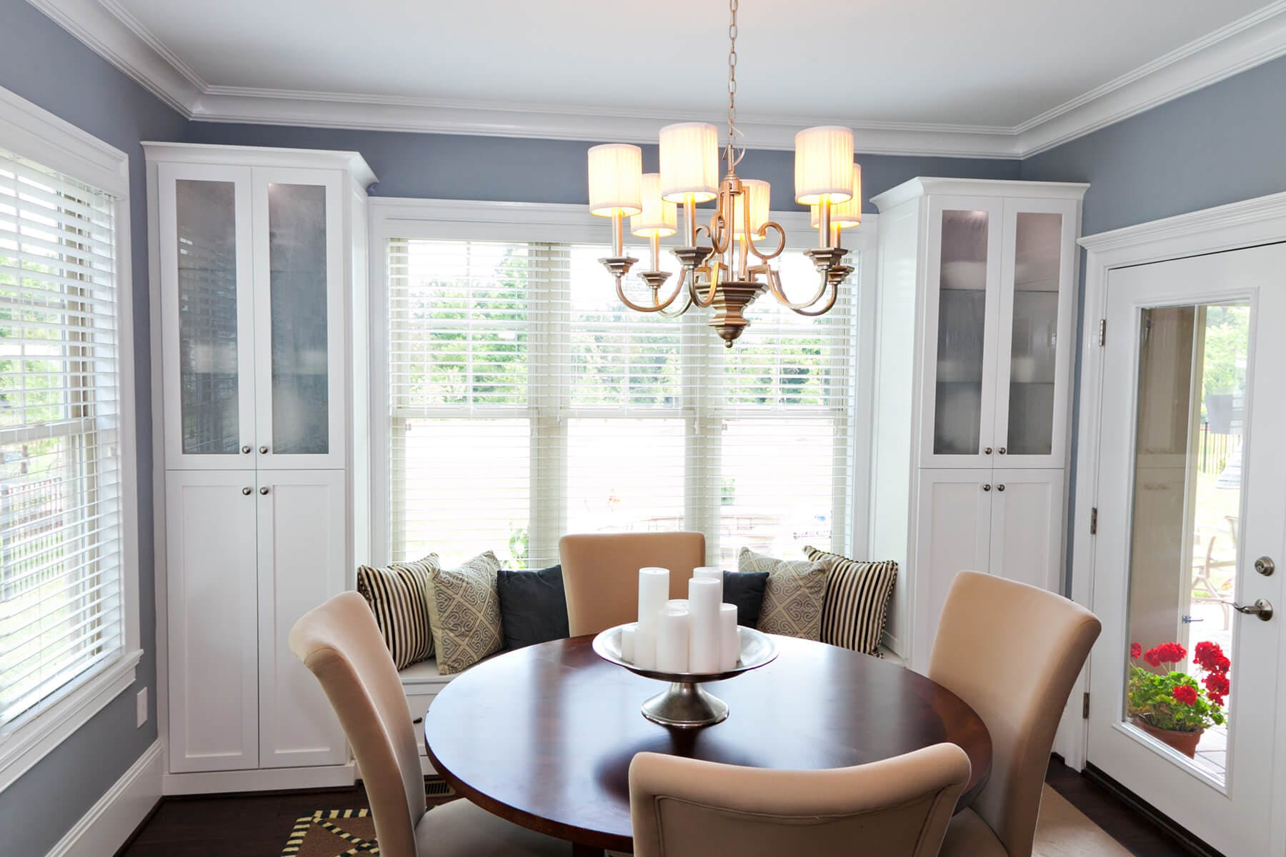 Cabinets In Dining Room ...