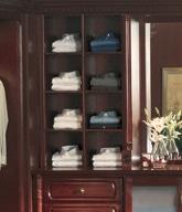 built in closet accessories